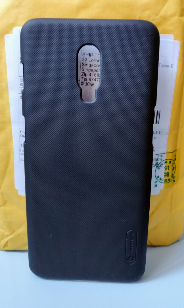 NEW Nillkin Frosted Case (Black) for OnePlus 6T c58aad4d19