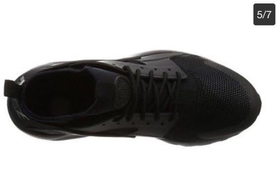 best service 925d2 2071a Nike Air Huarache Run Ultra Mens Running Shoes US14 Triple Black 819685 002,  Men s Fashion, Men s Footwear on Carousell
