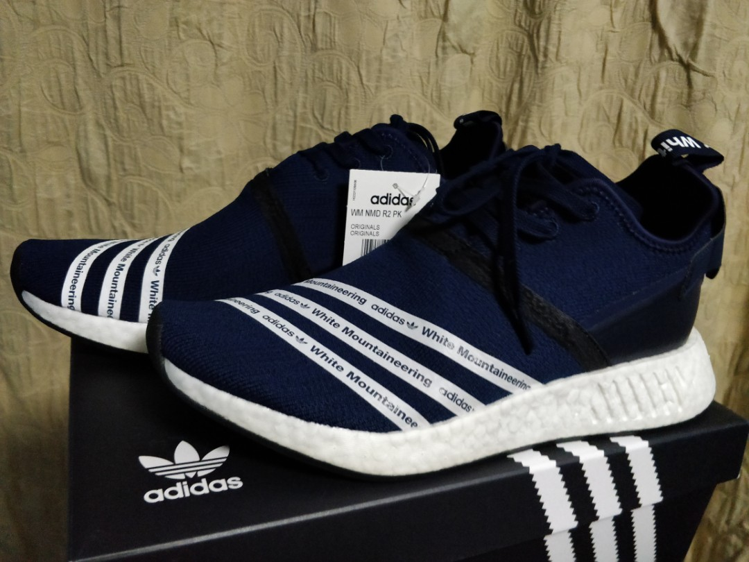 76886a007 NMD R2 WM Navy Blue