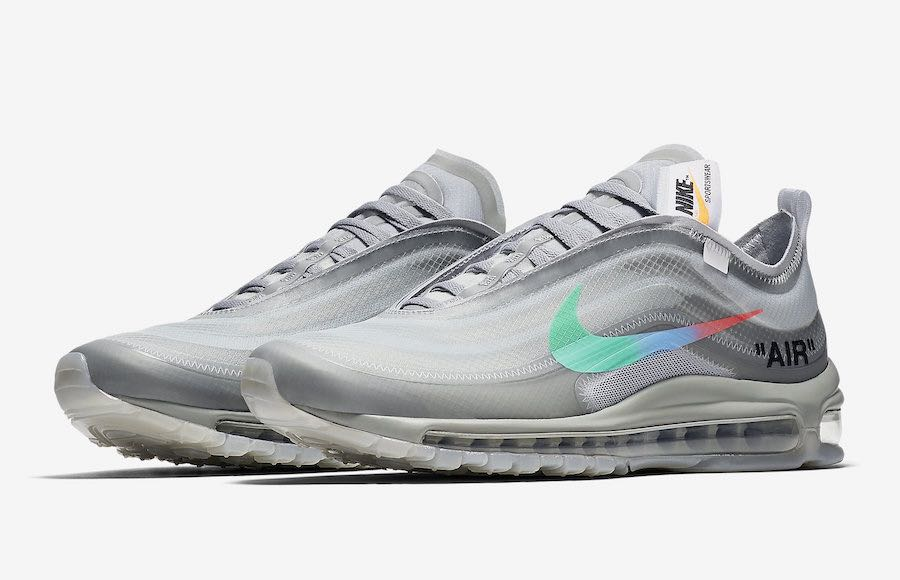 3ff4a90629 OFF WHITE X NIKE AIR MAX 97 'MENTA', Men's Fashion, Footwear ...