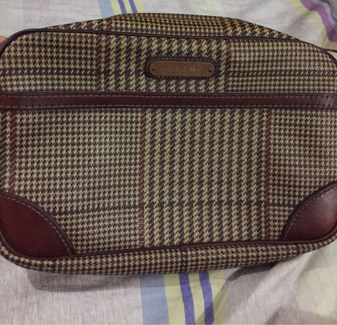15c4b5596e Original Polo Ralph Lauren Clutch Bag (Php50)