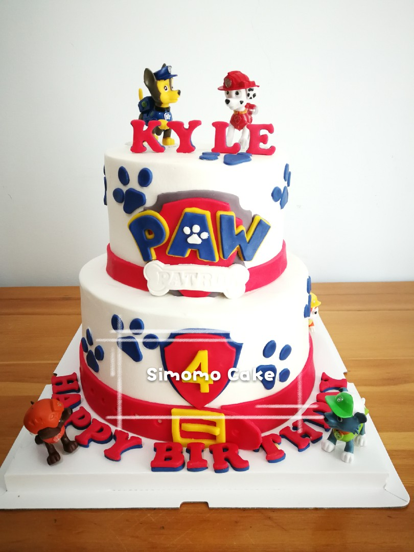 Paw Patrol Cake FREE DELIVERY Food Drinks Baked Goods On Carousell