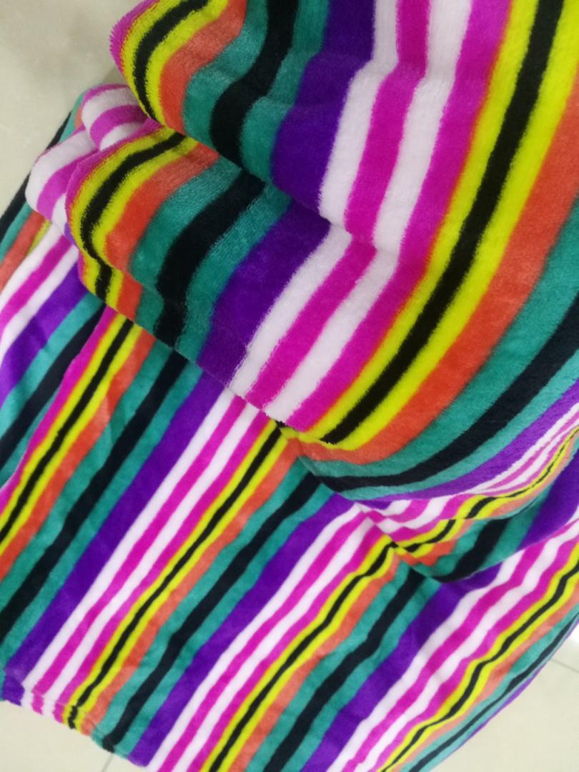 Rainbow Soft Blanket