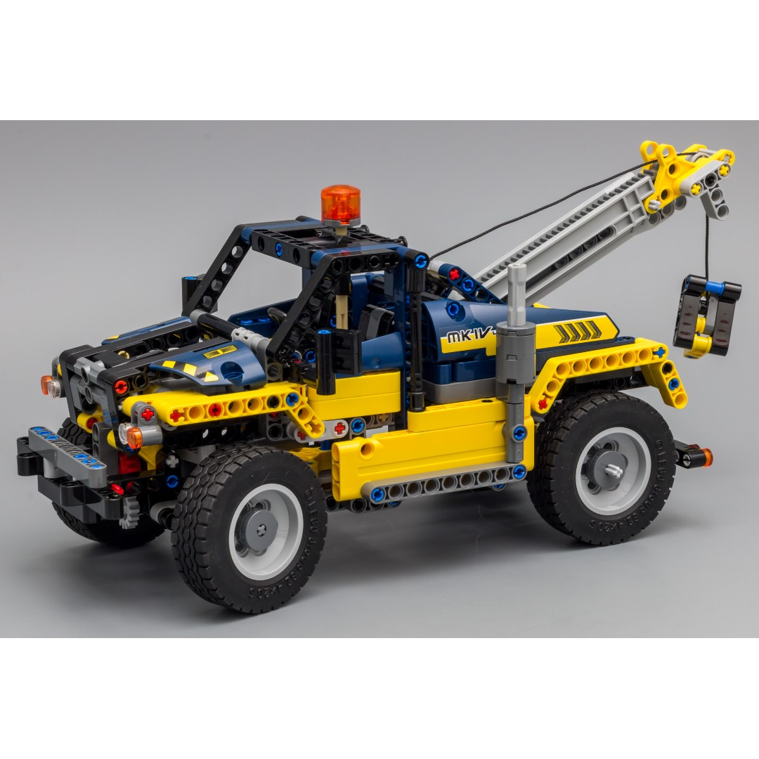 Rc Pack For Lego Technic 42079 Tow Truck Rc Motorization Mod B