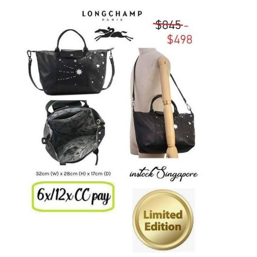 280ac46d808 READY STOCK authentic new Longchamp - Handbag M Le Pliage Leather ...