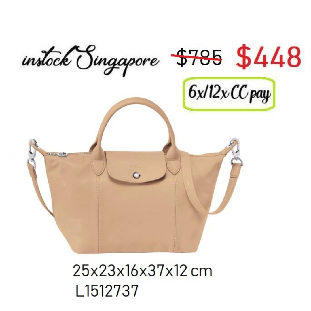 READY STOCK SG - BRAND NEW - AUTHENTIC Longchamp LE PLIAGE cuir