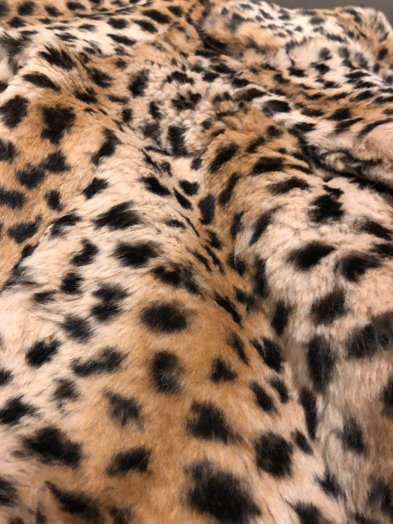 Real Rabbit fur - leopard 🐆