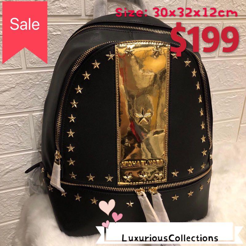 c64fe7d5e332 💥SALE MK BACKPACK, Luxury, Bags & Wallets, Backpacks on Carousell