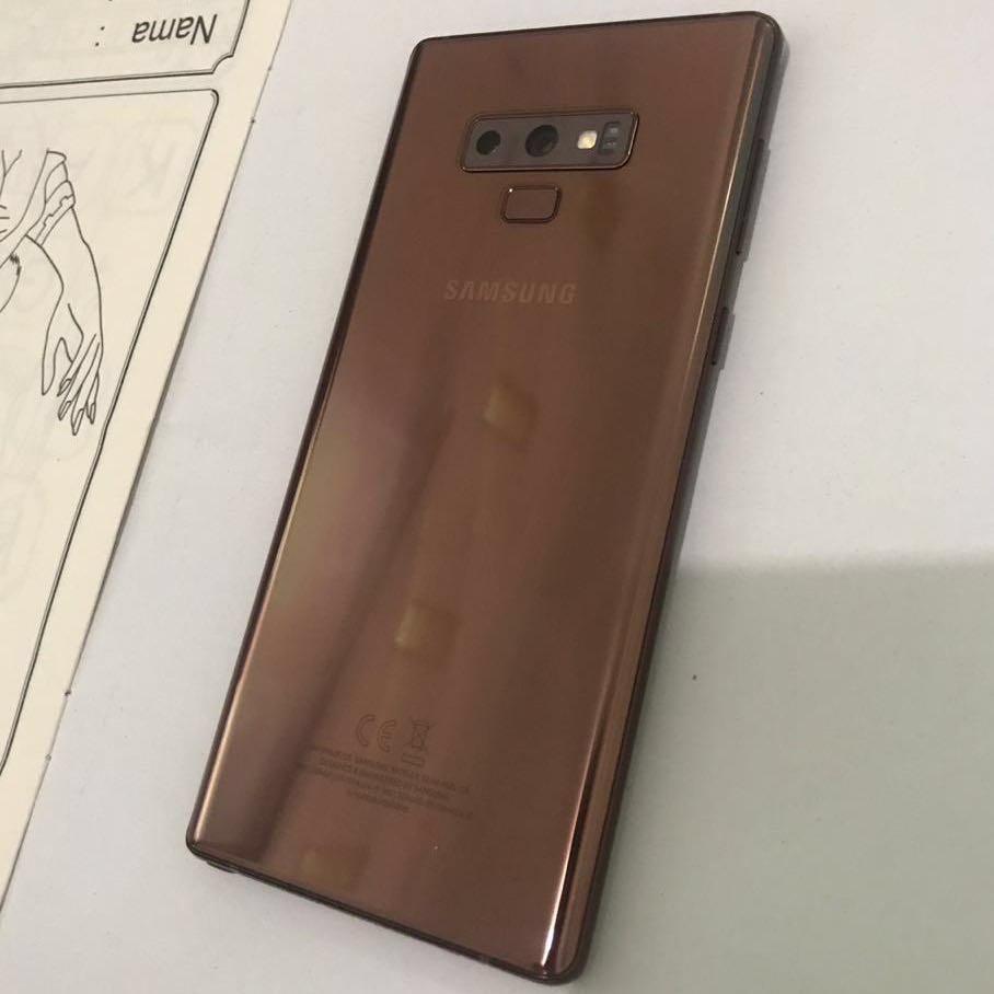 Samsung Galaxy Note 9 Metallic Copper 128GB