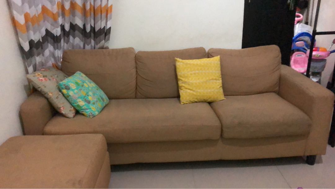 Sofa Informa Home Furniture On Carousell
