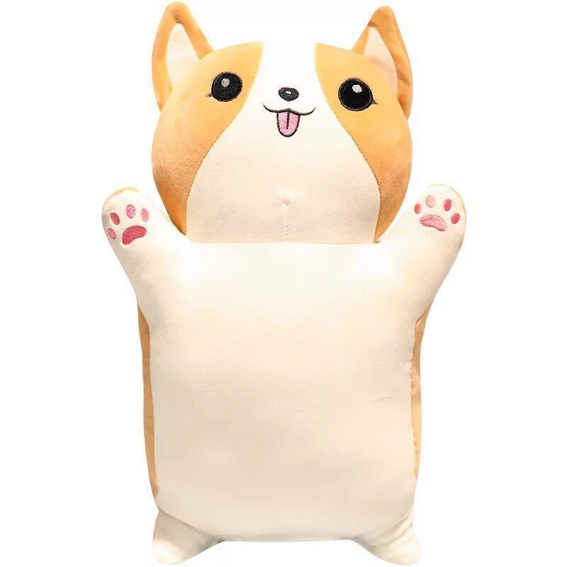 Super soft stuffed toy dog puppy corgi Japanese chiba dog