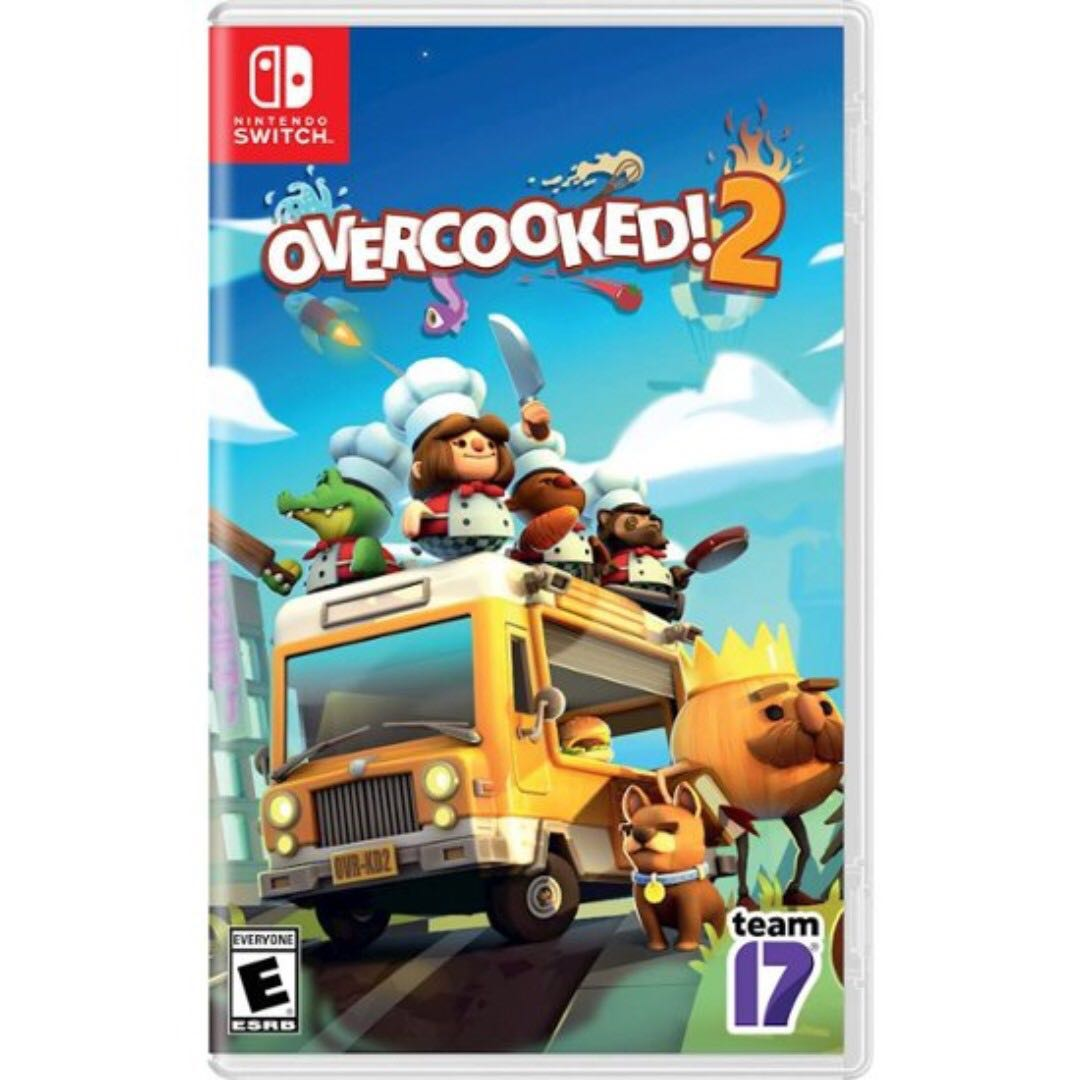 Switch Overcooked 2 Rental