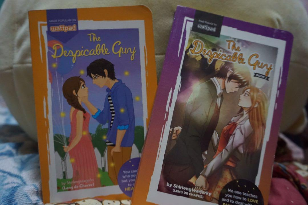 The Despicable Guy (Book 1 & 2) by Shirlengtearjerky - Leng De Chavez