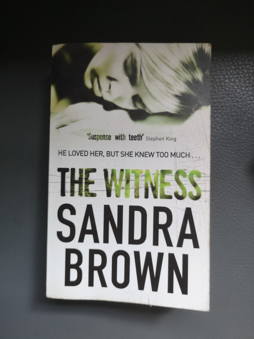 Ebook The Witness By Sandra Brown