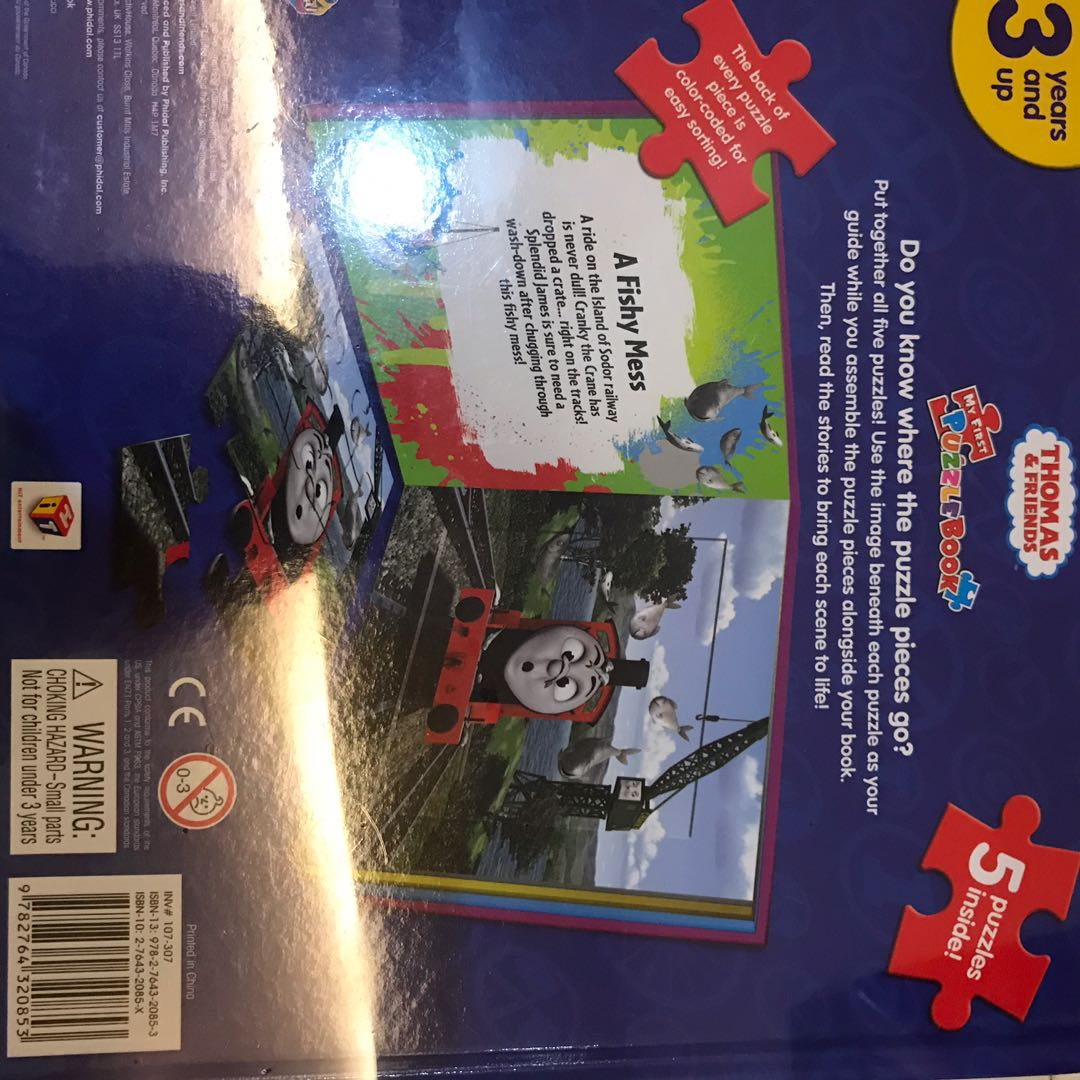 Thomas and friends puzzle book *new with wrapper*