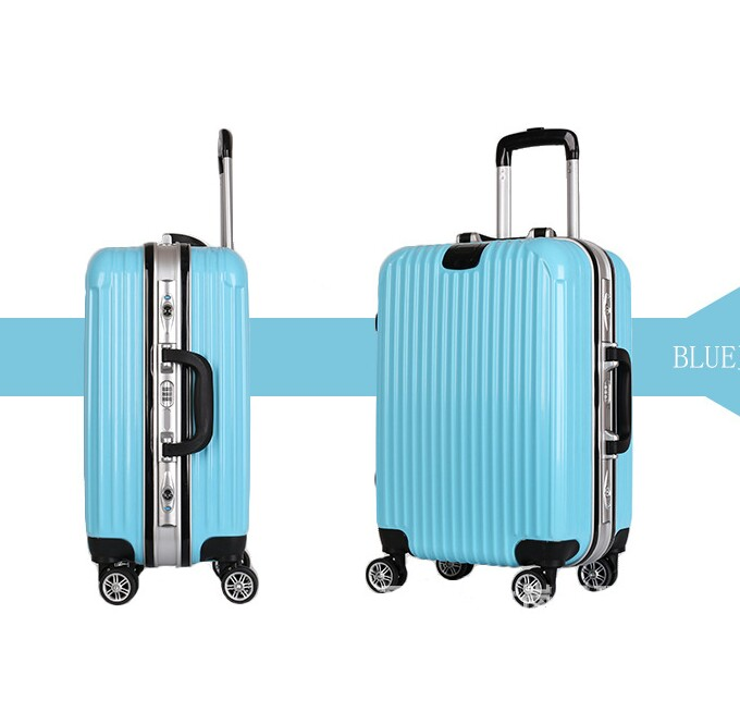 Trolley universal wheel 20 inch aluminum frame suitcase men and ... 91ecab02c4f76
