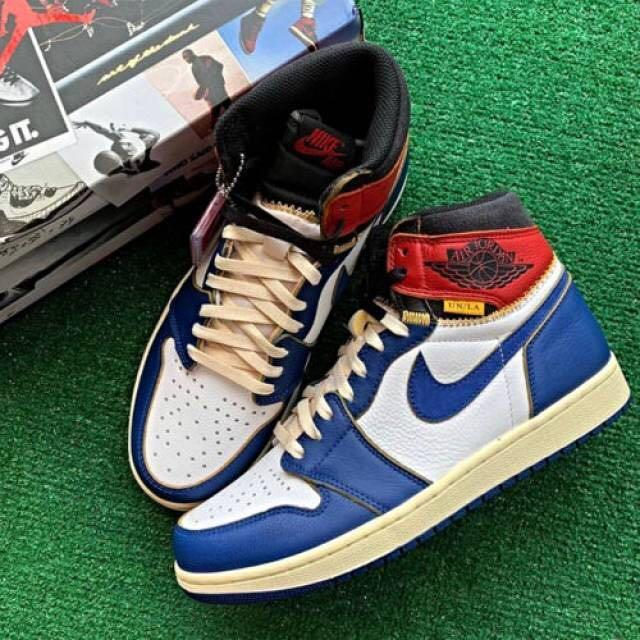 Union LA x Nike Air Jordan 1 Blue Toe