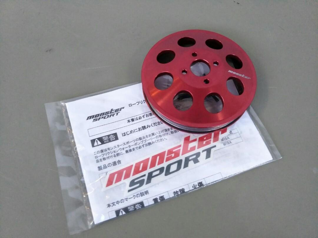 Used MONSTER Sports Crank Pulley for Suzuki Swift Sports