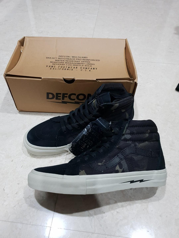 fdabfcef29 Vans x Defcon SK8-Hi. Pls contact 91450272 to deal