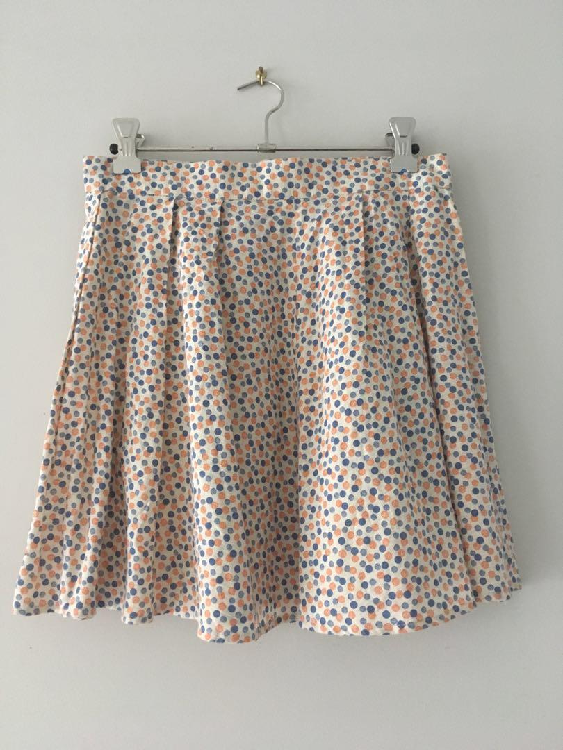 Vintage Polk dot skirt