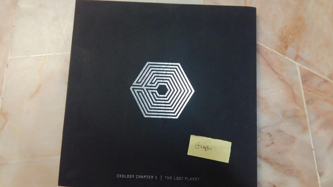 WTS/LFB EXO OFFICIAL ALBUM AND PC