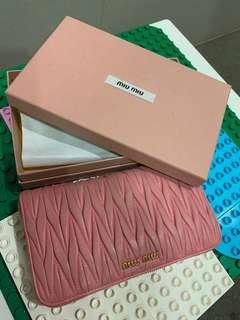 Miu Miu Wallet-Pink