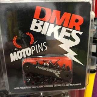 New: DMR VAULT MOTO X PINS