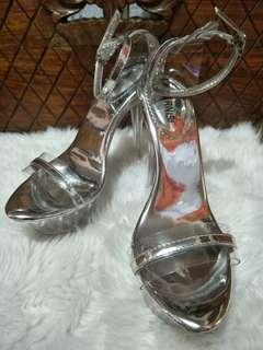 Glass Shoes Heels