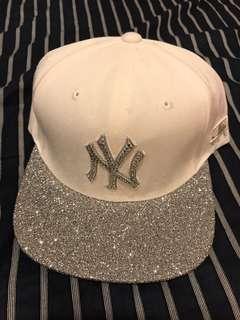 MLB HAT 全新 罕有銀閃棒球帽