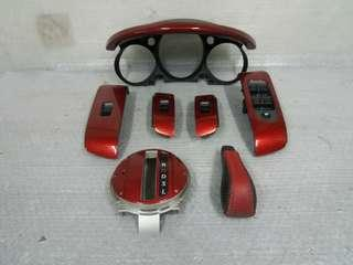 Jazz Fit GD3 Interior Red Carbon Ori Japan