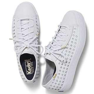 Keds Triple Decker Perf Leather