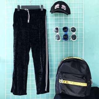 Velvet Trackpants