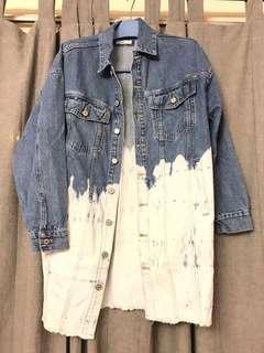 Hisso vintage denim jacket 好小咁樣既拼色 全新