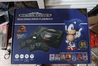 Sega mega drive flash back hd 世嘉遊戲機