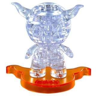 [全新]劉德華Andox安逗 3D Crystal Puzzles 立體水晶拼圖(8cm系列-36片)