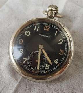 Vintage Moeris Military GSTP Pocket Watch