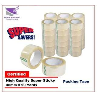 #Super Quality OPP Packaging Transparent Tape 48mm X 90 Yards Packing Tape#