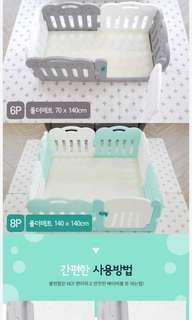 全新韓國Caraz兒童地墊玩樂墊 Brand new Korean kids play mat