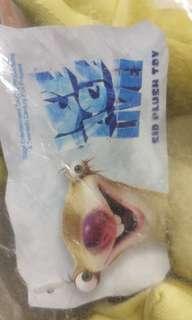 Ice age Sid soft doll 100%new