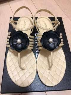 Chanel shoes 涼鞋 39.5