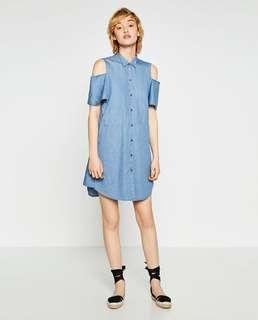 ZARA dress, hanya dipakai 3-4x belum ongkir