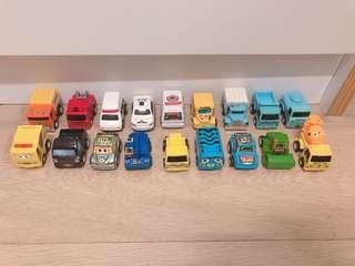 玩具車 回力車 共18架