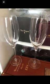 Dom Perignon 酒杯一對