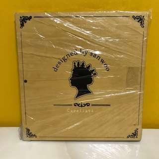 Wooden-style Scrapbook Album