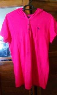 #bersihbersih Kaos pink