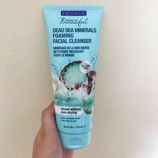 NEW - Freeman Dead Sea Minerals Foaming Facial Cleanser