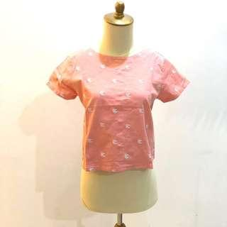 Fish embroidered blouse