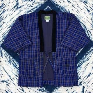 Balenciaga weared by kanye west plaid kimono boro  inspired