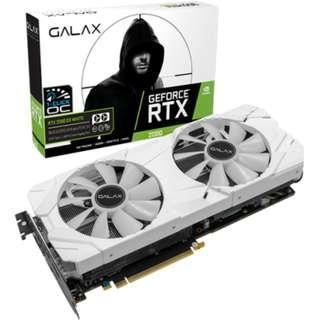 Galax RTX 2080 EX White 8G (1-Click OC)