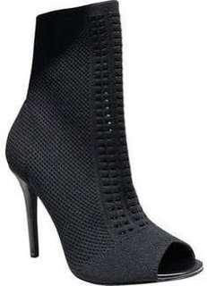 Aldo Keesha peep toe knit heel size 7